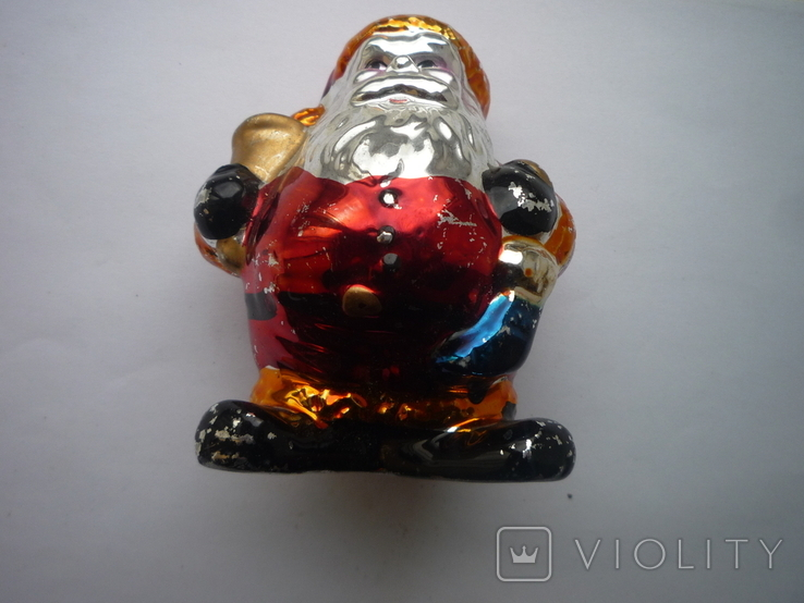 Игрушка под ёлку санта клаус германия, фото №3