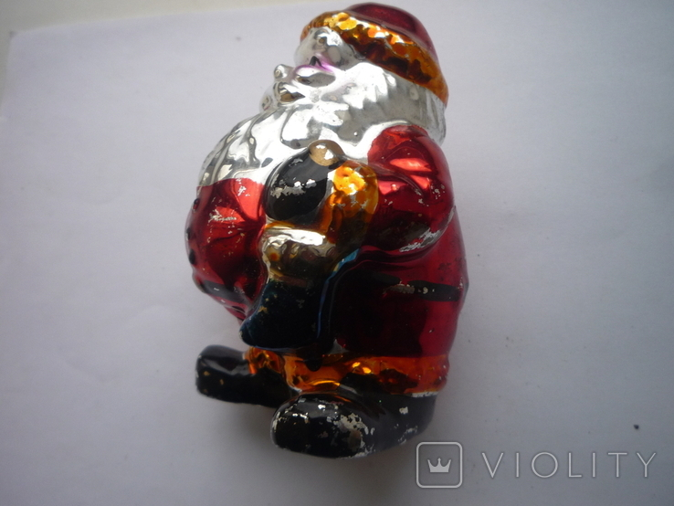 Игрушка под ёлку санта клаус германия, фото №5