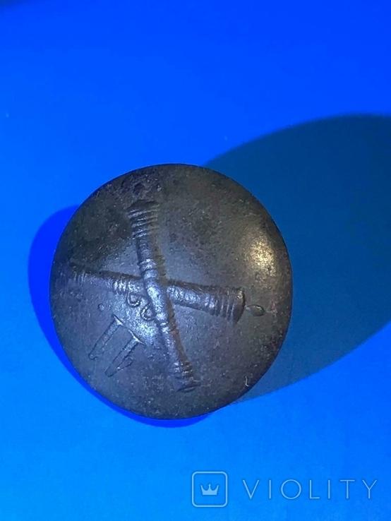 Пуговица 11 полевой арт. бригады или конной роты Царской армии, фото №6