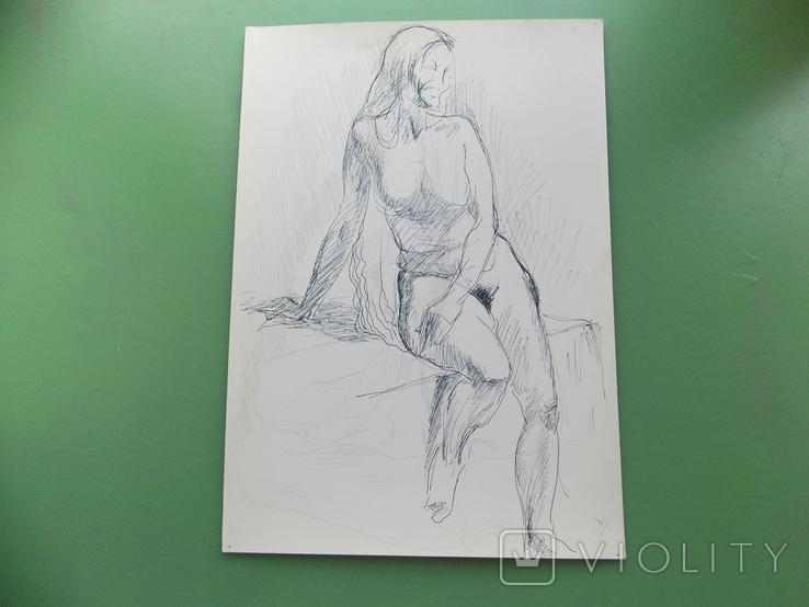 Рисунок №1.  21х30 см, фото №3