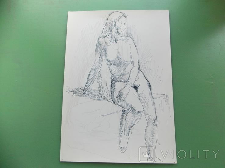 Рисунок №1.  21х30 см, фото №4