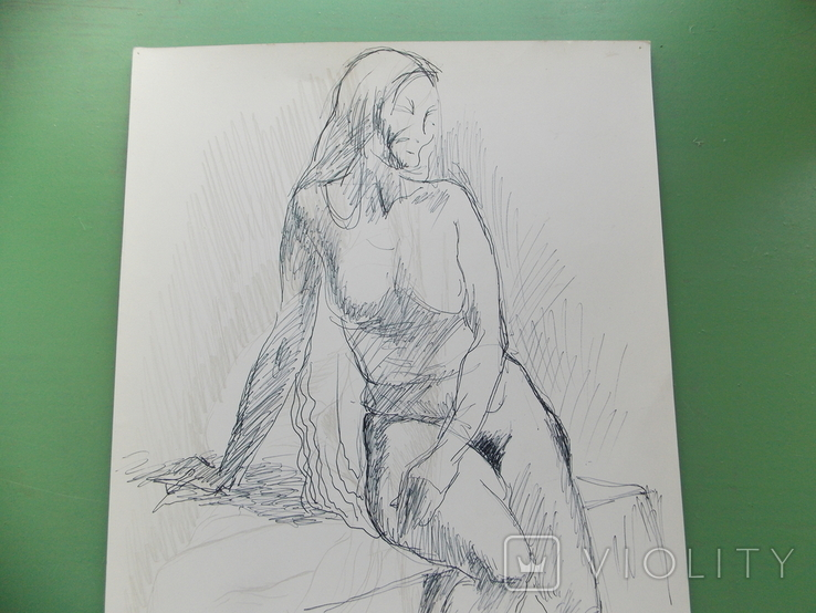 Рисунок №1.  21х30 см, фото №2