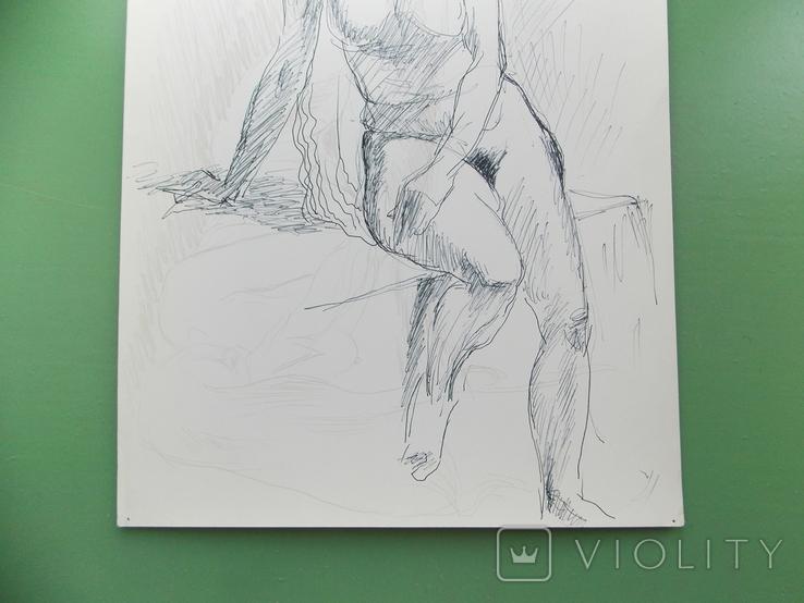 Рисунок №1.  21х30 см, фото №5