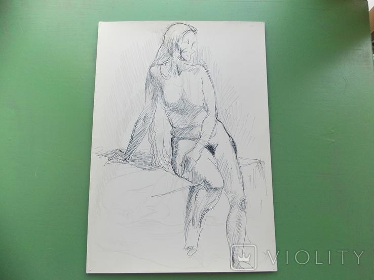 Рисунок №1.  21х30 см, фото №6