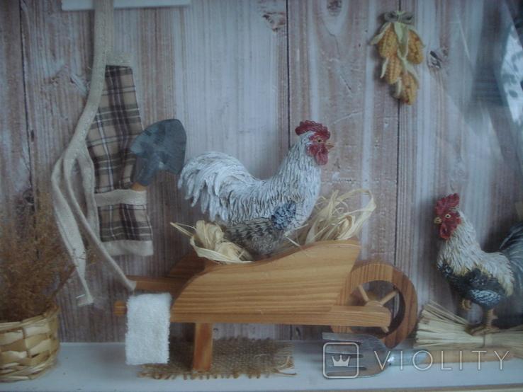"""Птичий дом"" объёмная картина., фото №4"