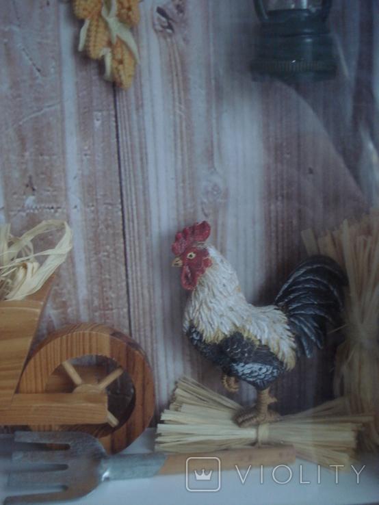 """Птичий дом"" объёмная картина., фото №6"