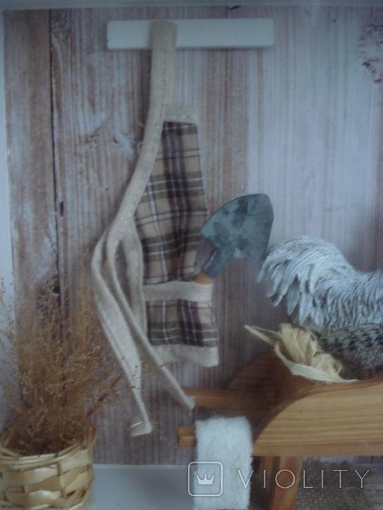 """Птичий дом"" объёмная картина., фото №9"