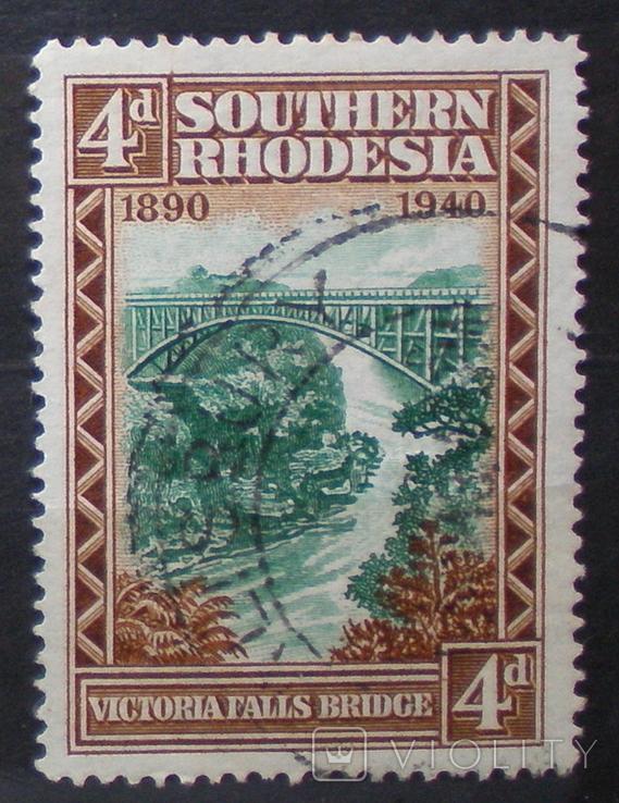 Южная Родезия № 60 3,6 евро