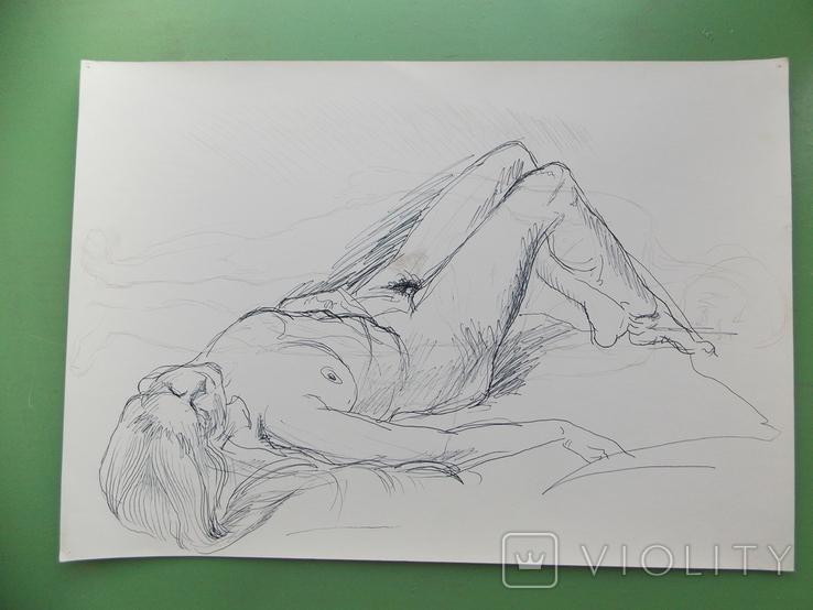 Рисунок № 2.  21х30 см, фото №2