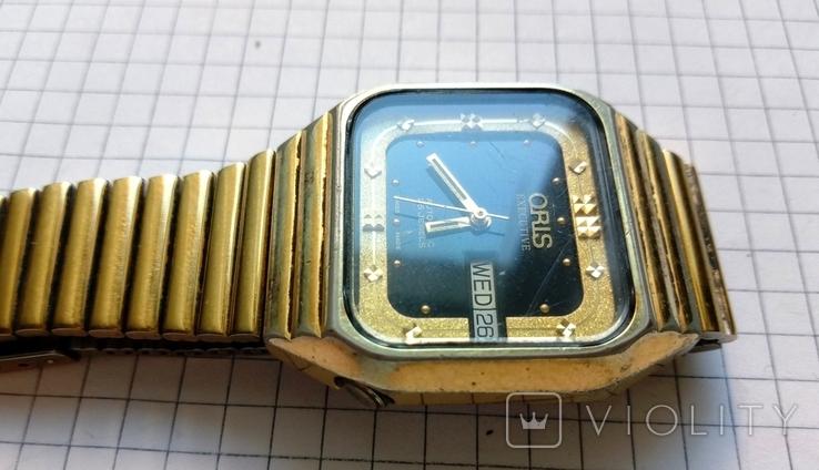 """Швейцарские наручные старые часы """"Орис"""" под ремонт - автоподзавод, фото №4"""