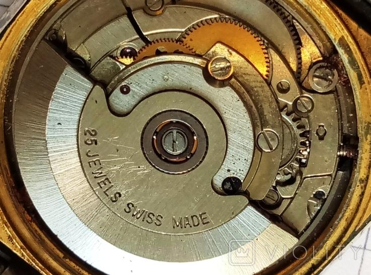 """Швейцарские наручные старые часы """"Орис"""" под ремонт - автоподзавод, фото №8"""