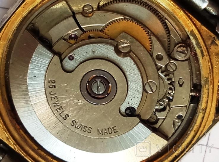 """Швейцарские наручные старые часы """"Орис"""" под ремонт - автоподзавод, фото №9"""