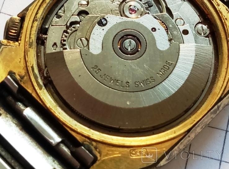 """Швейцарские наручные старые часы """"Орис"""" под ремонт - автоподзавод, фото №11"""