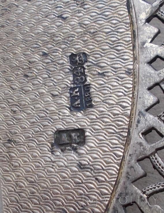 Венец к иконе, серебро., фото №5