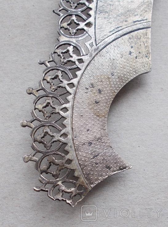 Венец к иконе, серебро., фото №7