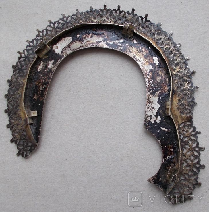 Венец к иконе, серебро., фото №11