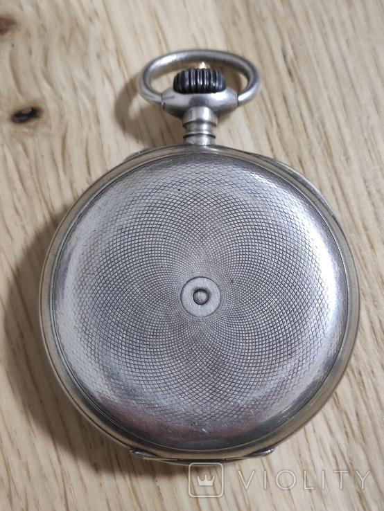 Срібний Павель Буре з монограмою, фото №3