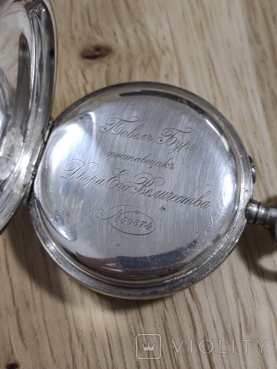 Срібний Павель Буре з монограмою, фото №5