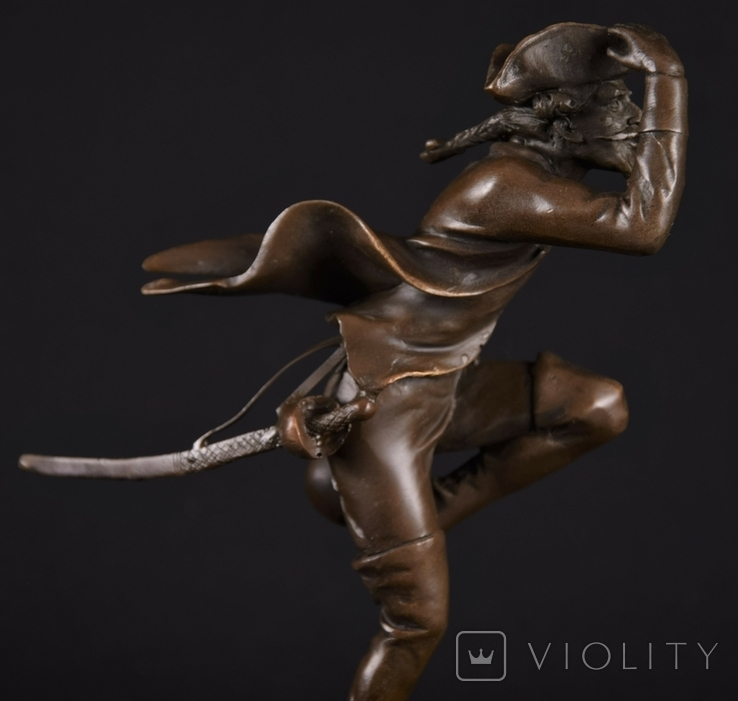 Фигурка Скульптура Барон Мюнхаузен Mnchhausen Franze, фото №8