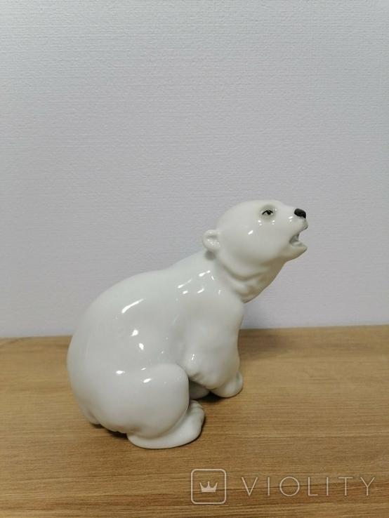 Фигурка Белого Медведя ЛФЗ, фото №3