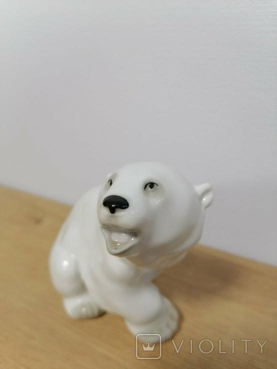 Фигурка Белого Медведя ЛФЗ, фото №6