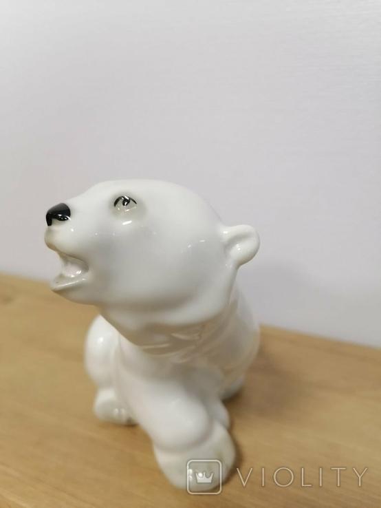 Фигурка Белого Медведя ЛФЗ, фото №7