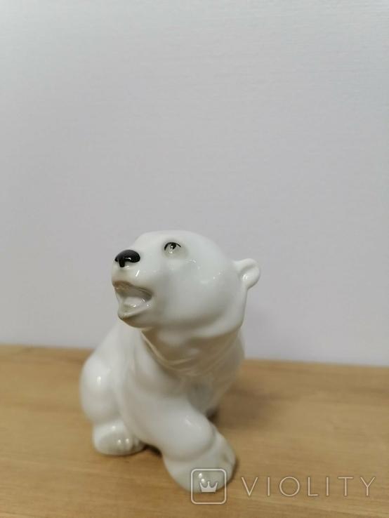 Фигурка Белого Медведя ЛФЗ, фото №11