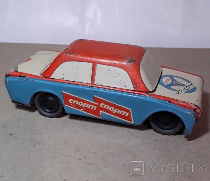Инерционная Машинка АВТОСПОРТ - РАЛЛИ из СССР, фото №2