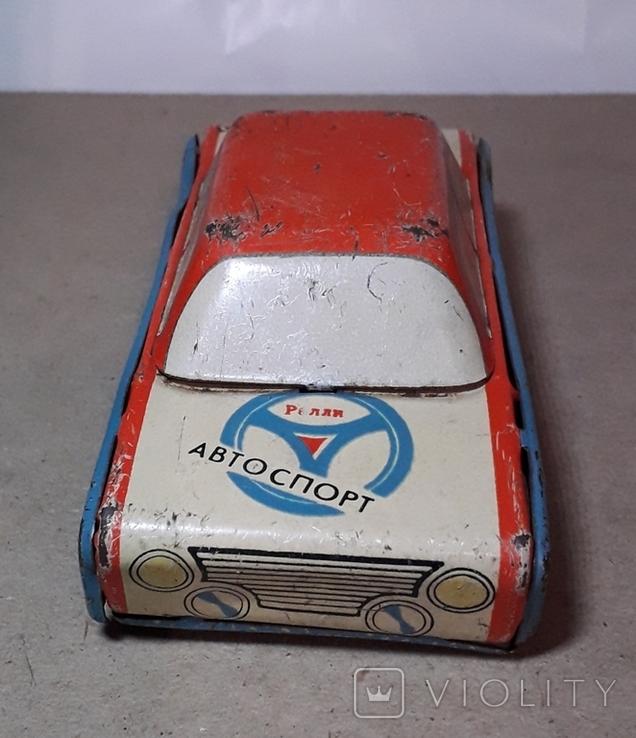 Инерционная Машинка АВТОСПОРТ - РАЛЛИ из СССР, фото №3