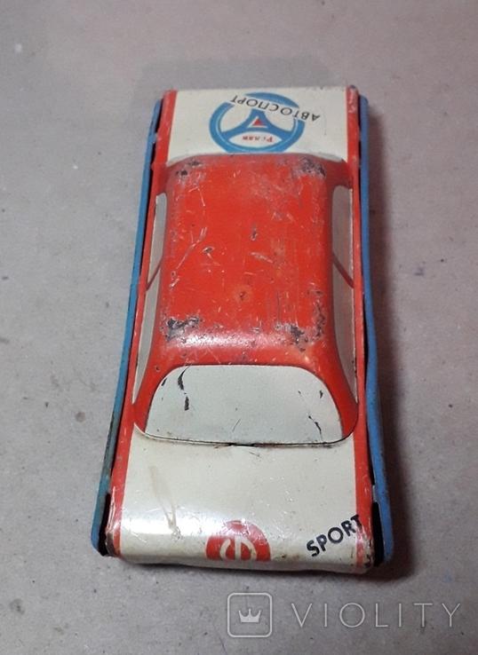 Инерционная Машинка АВТОСПОРТ - РАЛЛИ из СССР, фото №5