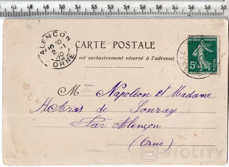 Старинная открытка. 1910 год. Разное.(3), фото №3