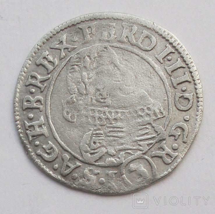3 крейцера 1635 г. Фердинанд II, Австрия