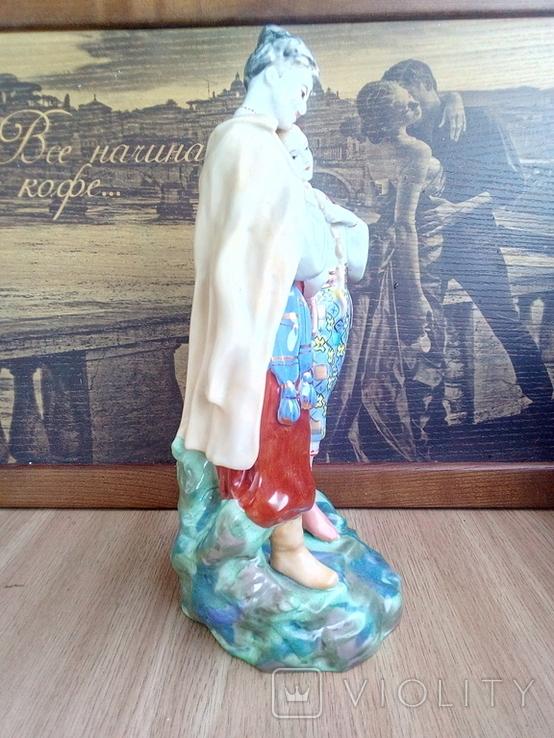 Фигурка СССР майская ночь, старый Киев, фарфор, фото №6