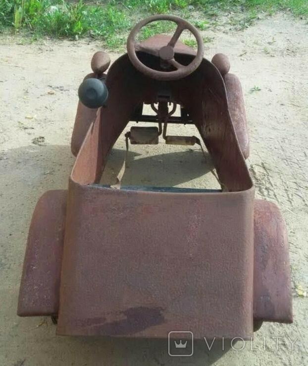 Педальная машинка ЗиС, фото №5
