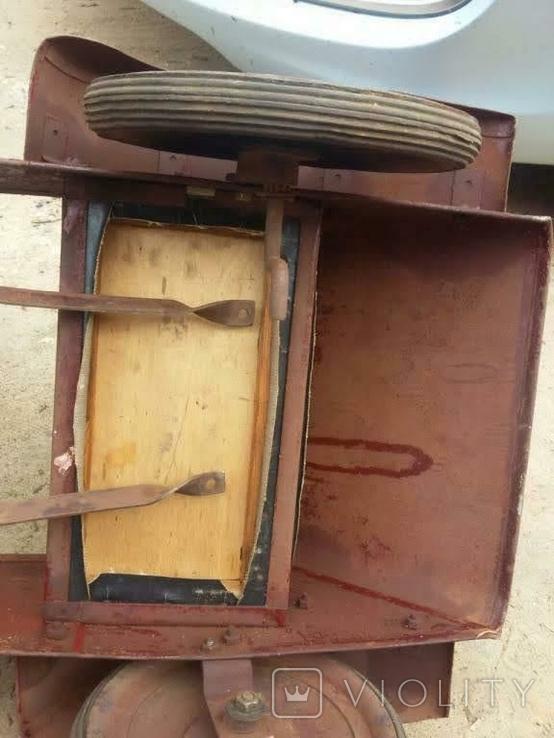 Педальная машинка ЗиС, фото №6