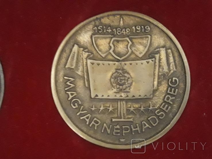 Комплект настольных медалей, фото №2