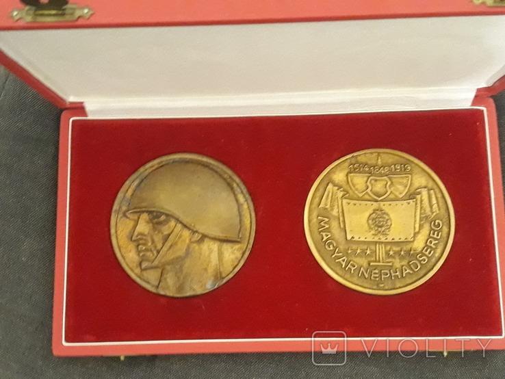 Комплект настольных медалей, фото №3