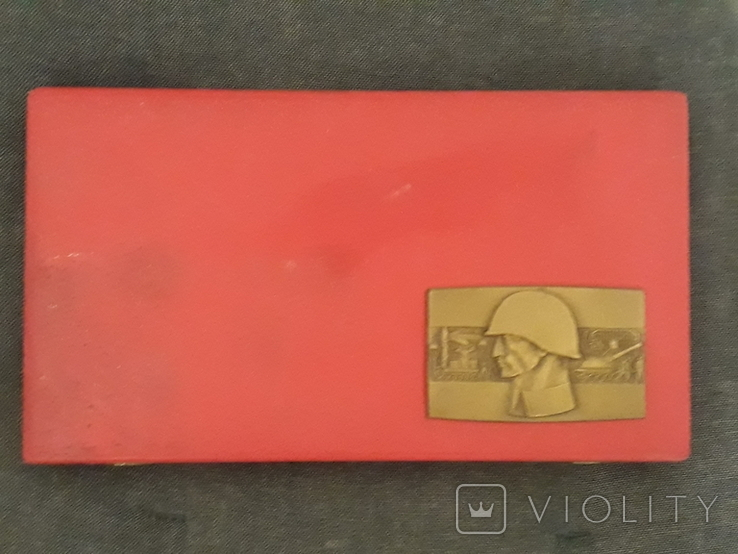Комплект настольных медалей, фото №4
