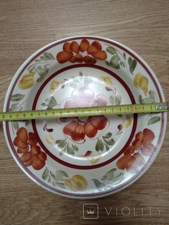 Старинная коллекционная тарелка2, фото №4