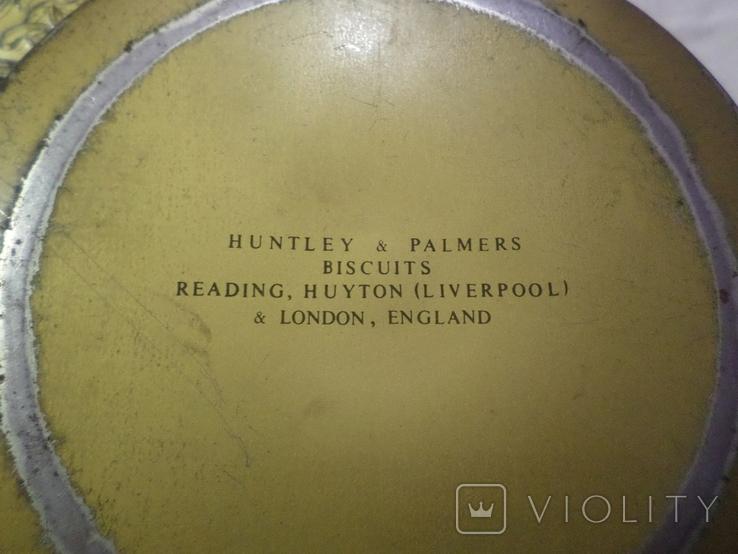 Старая жестяная банка  Huntley & Palmers, фото №11