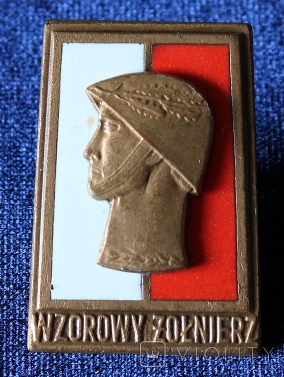 Польша. Отличный солдат. Бронзовая степень.(3), фото №2