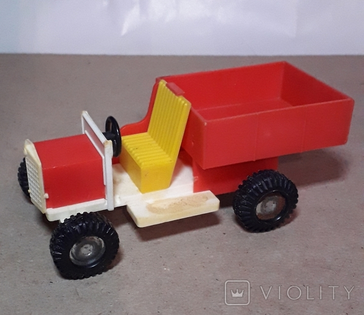 Машинка грузовик Кругозор из СССР длина 11 см., фото №2