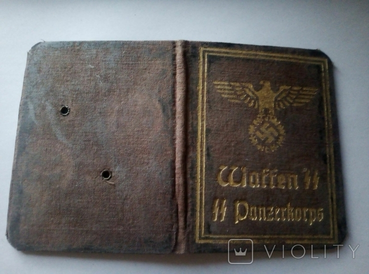 Копия.удостоверения.аусвайс.3 рейх. германия, фото №3