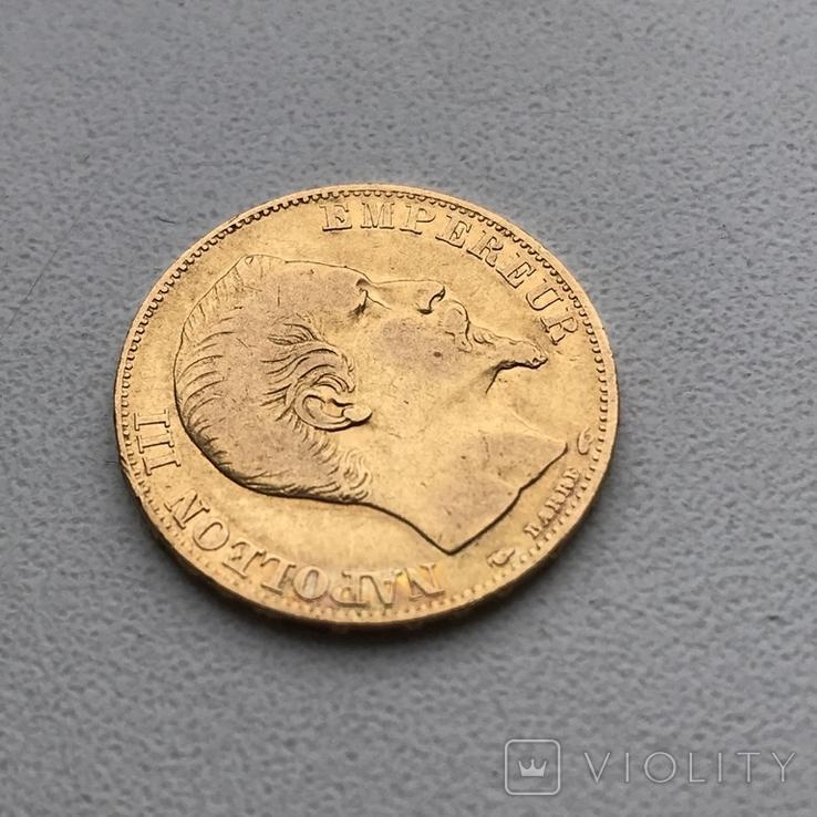20 франков 1854 года, фото №3