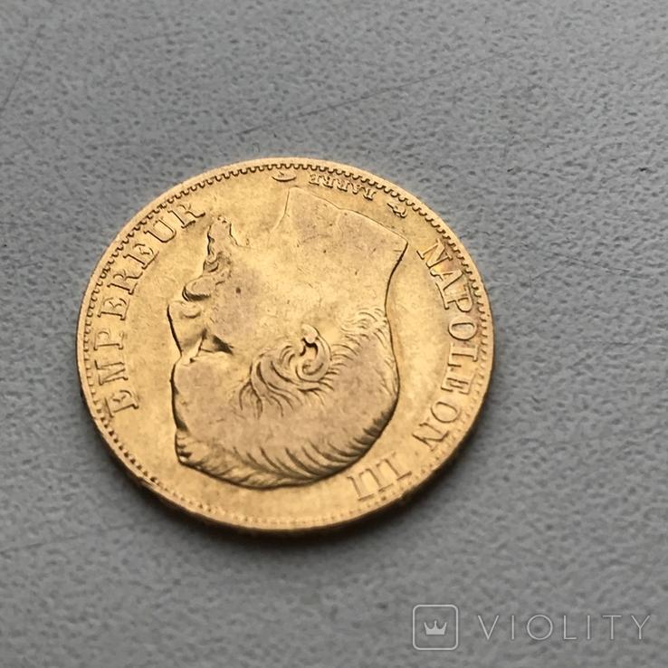 20 франков 1854 года, фото №4