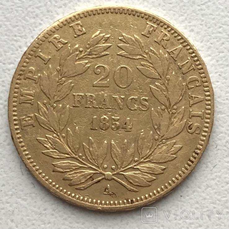 20 франков 1854 года, фото №5