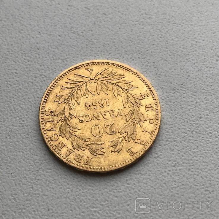 20 франков 1854 года, фото №7