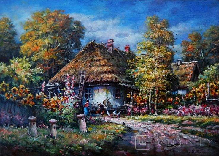 """Ukrainian landscape"" 42 x 30 2020, фото №2"