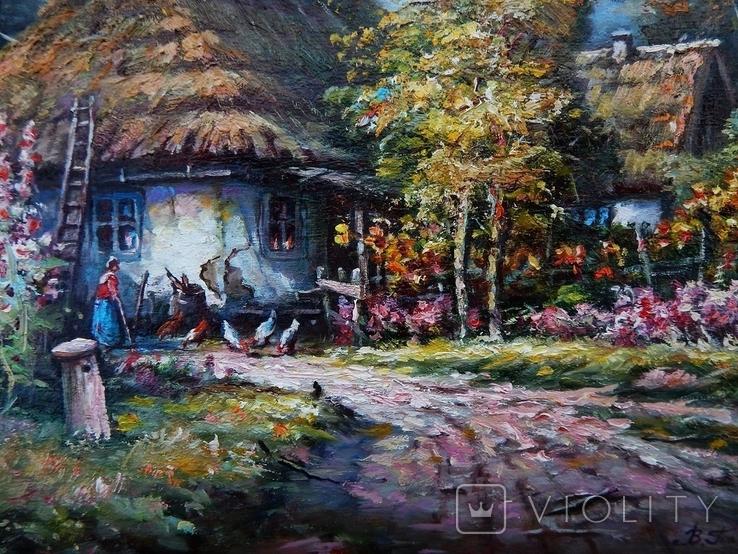 """Ukrainian landscape"" 42 x 30 2020, фото №4"
