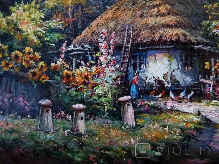"""Ukrainian landscape"" 42 x 30 2020, фото №5"